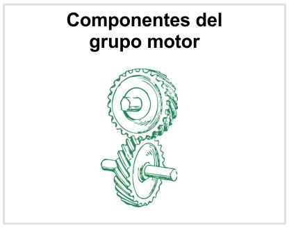 Componentes grupo motor