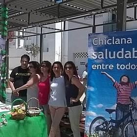 Voluntariado ante el Stand del Día Mundial sin Tabaco 2015
