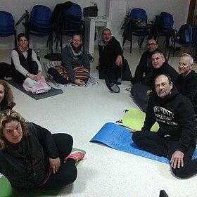 Grupo asistentes sesión Taller Salud Integral diciembre